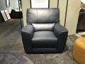 Кресло Тордино с реклайнером (Натуральная кожа) каталог мебели с ценами