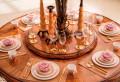 Столовая Белмонт с круглым столом (Классика, массив дерева) каталог с ценами