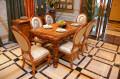 Столовая Белмонт с прямоугольным столом (массив дерева) для квартиры