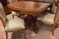 Столовая Флетчер, стол раздвижной (Классика, массив дерева) магазин