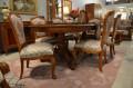 Столовая Флетчер, стол раздвижной (Классика, массив дерева) купить в Москве