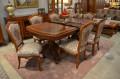 Столовая Флетчер, стол раздвижной (Классика, массив дерева) каталог с ценами