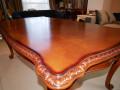 Обеденный стол Монтана (Классика, массив дерева)  для загородного дома