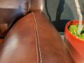 Кресло Болтон (Реклайнер, Натуральная кожа) фото