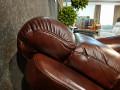 Кресло Болтон (Реклайнер, Натуральная кожа) цена