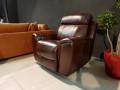 Кресло Болтон (Реклайнер, Натуральная кожа) официальный сайт цены