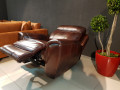 Кресло Болтон (Реклайнер, Натуральная кожа) изображение