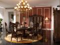 Классический стол обеденный круглый ДельМондо
