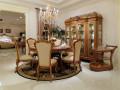 Сервировочный столик Белмонт на колесиках (Классика, массив дерева) каталог мебели с ценами