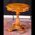 Стол чайный круглый Белмонт (Классика, массив дерева) для загородного дома