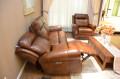 Кресло Фишер (Реклайнер, Натуральная кожа) распродажа