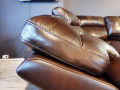 Диван Стерлинг угловой с реклайнерами каталог мебели с ценами