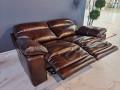 Диван Стерлинг двойной с реклайнерами каталог мебели с ценами