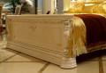 Кровать Вирджиния В (Массив берёзы,натуральная кожа, классика) фото
