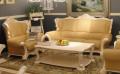 Кресло Вирджиния А (Массив берёзы, натуральная кожа, классика) в интерьере