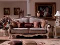 Диван Двойной F Вирджиния-W (Массив берёзы, ткань, классика) изображение