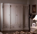 Шкаф 4-х дверный Вирджиния (Массив берёзы, классика) в СПб