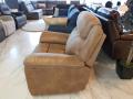 Кресло с реклайнером и глайдером Джиберто для квартиры