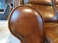 Диван Фишер (Реклайнеры, Натуральная Кожа) каталог мебели с ценами
