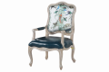 Кресло для отдыха Невада B (Неоклассика, натуральная кожа) купить в Москве