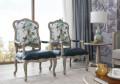 Кресло для отдыха Невада B (Неоклассика, натуральная кожа) для квартиры