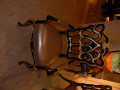 Стул с подлокотниками Конкорд B (Классика, ткань) для дома