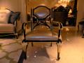 Кресло Конкорд  (Массив дерева, натуральная кожа) изображение