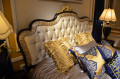 Классическая Спальня Конкорд А (Обивка ткань) в интерьере