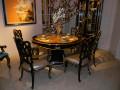 Стол обеденный круглый Конкорд (Классика, массив дерева) каталог мебели