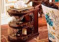 Сервировочный столик Батлер на колесиках (Классика, массив дерева) каталог