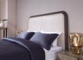 Кровать Алабама E (Неоклассика, ткань) для загородного дома