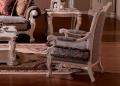 Кресло Вирджиния F (Массив берёзы,ткань, классика) для дома