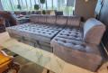 Диван Ритис раскладной, П-образный каталог мебели с ценами
