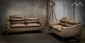 Диван Зенто (Натуральная кожа, Алькантара) каталог мебели