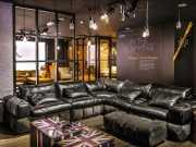 кожаный модульный диван Марчело
