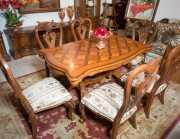 Стол обеденный Феникс А прямоугольный (Массив дерева) каталог мебели с ценами