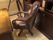 Кресло Крофорд (Вращается, натуральная кожа) купить