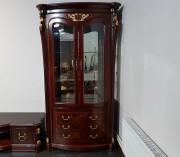 Витрина 2-х дверная Вагнер (Массив дерева, классика) купить в СПб