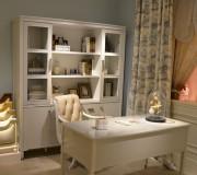 Книжный шкаф Фримонт-W (Классика, массив дерева) каталог мебели с ценами