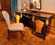 Стол туалетный Конкорд с зеркалом (Классика, массив дерева) изображение