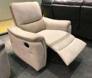 Кресло Фатто с реклайнером (Алькантара) магазин