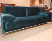 Диван Монтелло бирюза (Велюр) каталог мебели с ценами