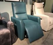 Кресло Бокко с Реклайнером, натуральная кожа магазин Москва