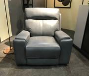 Кресло Франчезе с реклайнером (Натуральная кожа) купить в Москве