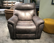 Кресло Сегретто с реклайнером (Натуральная кожа) фото