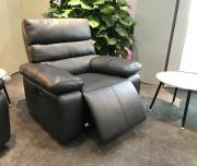 Кресло Соверето с реклайнером (Натуральная кожа) распродажа