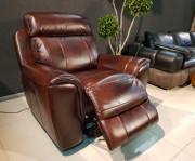 Кресло Болтон (Реклайнер, Натуральная кожа) каталог мебели