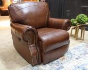 Кресло Орландо (Реклайнер, Натуральная кожа) для загородного дома
