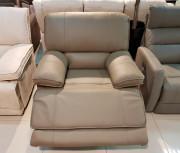 Кожаное Кресло Капонело с электрореклайнером для загородного дома