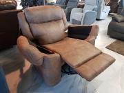Кресло с реклайнером и глайдером Джиберто для дома